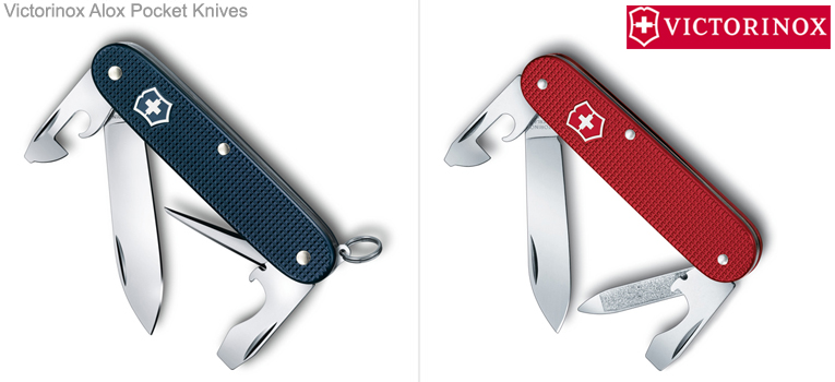Alox Handle Swiss Army Knives