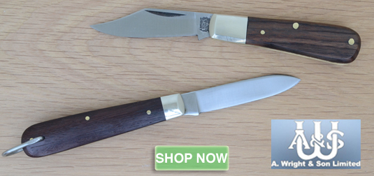 A. Wright Knives Sheffield Folding Pocket Penknives